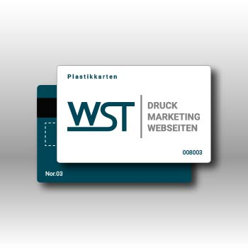 Plastikkarte Werbedruck Staub GmbH
