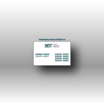 Visitenkarte Werbedruck Staub GmbH