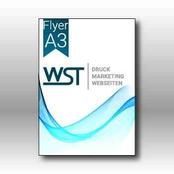 Flyer A3 Werbedruck Staub GmbH