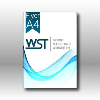 Flyer A4 Werbedruck Staub GmbH