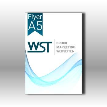 Flyer A5 Werbedruck Staub GmbH