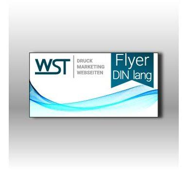 Flyer Din lang Werbedruck Staub GmbH