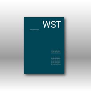 blaues Briefpapier Werbedruck Staub GmbH